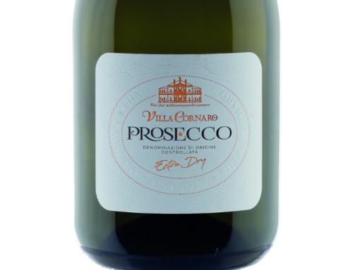 New label for Prosecco DOC Villa Cornaro